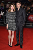 Ashley Hinshaw Photo - Ashley Hinshaw  Topher Grace at the UK premiere of Truth as part of the London Film Festival 2015 at the Odeon Leicester Square LondonOctober 17 2015  London UKPicture Steve Vas  Featureflash