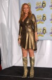 Angie Martinez Photo - Singer ANGIE MARTINEZ at the 7th Annual Soul Train Lady of Soul Awards in Santa Monica California 28AUG2001   Paul SmithFeatureflash
