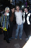 Alex Frost Photo - LtoR JOHN ROBERTSON director GUS VAN SANT ELIAS McCONNELL  ALEX FROST at party at the Cannes Film Festival for HBO Films17MAY2003