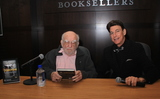 Book Signing Photo - January 27 2020 Hollywood California USA I16084CHWEd Asner Book Signing And Q  A For His Autobiography  Son Of A Junkman With Celebrity Moderator BJ KorrosBarnes  Noble at The Grove Los Angeles California USA  01272020 ED ASNER AND BJ KORROS       Clinton HWallacePhotomundo International  Photos Inc  (Credit Image  Clinton WallaceGlobe Photos via ZUMA Wire)
