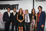 Annie  Ilonzeh Photo - Juan Pablo Raba Pierre Morel Jennifer Garner John Ortiz Annie Ilonzeh Tyson Ritter 08282018 The World Premiere of Peppermint held at the Regal Cinemas LA Live in Los Angeles CA Photo by Izumi Hasegawa  HollywoodNewsWireco