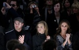 AnnaLynn McCordand Photo - (L-R) Actors Kellan Lutz AnnaLynn McCordand and Jennifer Love Hewitt pictured at the Monarchy fashion show at the Promenade in Bryant Park on February 14th 2009 in New York City Mercedes-Benz Fashion Week Fall 2009 Collection