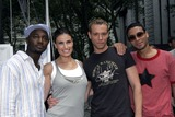 Wilson Jermaine Heredia Photo - (L-R) Actors Taye Diggs Idina Menzel Adam Pascal and Wilson Jermaine Heredia from the movie Rent pose for a photo before performing at Broadway For Life to benefit Broadway CaresEquity Fights AIDS in Bryant Park August 4 2005 in New York City