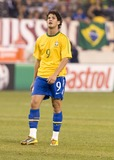 Alexandre Pato Photo - Brazil forward Alexandre Pato pictured during the US vs Brazil game at the New Meadowlands Stadium on August 10 2010 in East Rutherford New Jersey