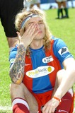 Justin Hawkins Photo - London UK Justin Hawkins at the Celebrity Soccer Six in aid of The Samaritans held at Chelsea Football ground Stamford Bridge24 May 2009LomaxLandmark Media