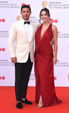 Amy Jackson Photo - London UK George Panayiotou Amy Jackson  at The British Academy Television Awards held at  Festival Hall Belvedere Road London on Sunday 12 May 2019  Ref LMK392 -S2407-130519Vivienne VincentLandmark Media WWWLMKMEDIACOM