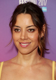 Aubrey Plaza Photo - London UK 0717Aubrey Plaza at the BFI London Film Festival premiere of Ingrid Goes West held at Picturehouse Central London UK7 October 2017Ref LMK394-MB1020-081017BD CoveLandmark MediaWWWLMKMEDIACOM