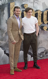 Brooklyn Beckham Photo - London UKDavid Beckham and Brooklyn Beckham at the European premiere of King Arthur Legend of the Sword at Cineworld Empire on May 10 2017 in London United KingdomRef LMK386-J285-110517Gary MitchellLandmark MediaWWWLMKMEDIACOM