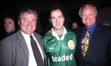 Angus Deayton Photo - LondonTerry Venables Angus Deayton and Ron Atkinson at the Dreamcast Millenium cupDecember 1999Picture by Trevor MooreLandmark Media