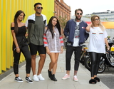 Aaron Chalmers Photo - LondonUK Abbie Holborn Chloe Ferry and Marnie Simpson Nathan Henry and Aaron Chalmers    at The Launch of the new series of Geordie Shore at MTV Studios followed by Chloe Ferry dressing up as a chicken to celebrate world record for eating chicken nuggets in Camden London UK on the 29th August 2017  RefLMK73-S626-300817Keith MayhewLandmark MediaWWWLMKMEDIACOM