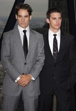 Adrian Pasdar Photo - London UK  L-R  Adrian Pasdar and Milo Ventimiglia at the TV show  Heroes Series 2 photocall held at 30 St Marys Axe Tower (The Gherkin) London 30th August 2007 Keith MayhewLandmark Media