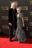 Anita Dobson Photo - London UK Brian May and Anita Dobson at The Olivier Awards Royal Albert Hall Kensington London on April 9th 2017Ref LMK73-J180-100417Keith MayhewLandmark MediaWWWLMKMEDIACOM