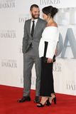 Amelia Warner Photo - London UK Jamie Dornan and Amelia Warner at the Fifty Shades Darker Premiere held at Odeon Leicester Square London on Thursday 9 February 2017Ref LMK73-61656-100217Keith MayhewLandmark Media WWWLMKMEDIACOM
