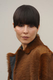 Noomi Rapace Photo - London UK Noomi Rapace at the Burberry Prorsum fashion show- AutumnWinter 2016 during London Fashion Week 2016 London Britain 22nd Feb 2016Ref LMK200-60019-220216Landmark MediaWWWLMKMEDIACOM