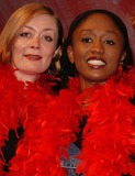 Alison Newman Photo - London Alison Newman and Diane Parish who will be making apprearances in the production of The Vagina Monologues throughout its run at The Wyndhams Theatre Leicester Square London4 April 2005Ali KadinskyLANDMARK MEDIA