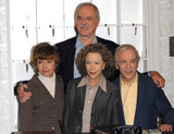 Andrew Sachs Photo - London UK Prunella Scales John Cleese Connie Booth and Andrew Sachs attend a press conference to announce the release of two special episodes of Fawlty Towers to commemorate the 30th anniversay of the show to be aired on GOLD on the 10th of May held at the Navy and Militay Club St James Square in London England  6th May 2009Chris JosephLandmark Media