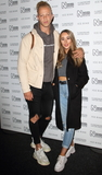 Hollies Photo - LondonUK Chris Jammer and Leah Holly   at the Natural History Museum Ice Rink Launch Party in Kensington London on 23rd October 2019RefLMK73-S2490-241010Keith MayhewLandmark MediaWWWLMKMEDIACOM