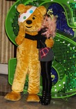 Amelia Lily Photo - London UK X Factor finalist Amelia Lily joins Pudsey Bear at Shrek The Musical at  Theatre Royal Drury Lane  to celebrate her collaboration in this years BBC Children in Need POP Goes the Musical in London 29th October 2012J AdamsLandmark Media