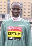 Abraham Kiptum Photo - London UK Abraham Kiptum at Elite Runners Photocall for the London Marathon 2019 outside the Tower Hotel Race HQ on April 24th 2019Ref LMK73-4803-250419Keith MayhewLandmark MediaWWWLMKMEDIACOM
