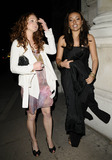 Jaye Jacobs Photo - LondonUK Jaye Jacobs (R) and guest at the Patsy Kensit and Jeremy Healey wedding reception One Whitehall Place London 18th April 2009  Can NguyenLandmark Media
