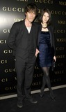 Alexandra Shulman Photo - London UK Benoite Grimes and Jackson Scott at the Vogue and Gucci Dinner Gala honouring Frida Giannini (Guccis creative director) hosted by Alexandra Shulman (British Vogue editor) at Saatchi Gallery in London 1st April 2009Can NguyenLandmark Media