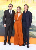 Margot Robbie Photo - London England Leonardo di Caprio Margot Robbie and Brad Pitt at  the UK Premiere of Once Upon a Time in Hollywood Odeon Luxe Leicester Square London England 30th July 2019Ref  LMK73-J5280-310719Keith Mayhew Landmark MediaWWWLMKMEDIACOM