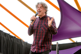Alan Davies Photo - Southwold Suffolk  Comedian Alan Davies performs in the Comedy Arena on the second day of the 2018 Latitude Festival  at Henham Park near Southwold Suffolk 14th July 2018Ref LMK73-J2315-160718Keith MayhewLandmark MediaWWWLMKMEDIACOM