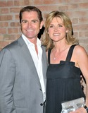 Anthea Turner Photo - LondonUK Anthea Turner with husband Grant Bovey   at Karen Millens OBE party  Berkeley Street London 11th June 2008