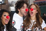 Alex Zane Photo - London UK The Saturdays with  Alex Zane   at the Red Nose Press Launch to promote Biennial televised national fundraising event held  at Leicester Square London  29th January 2009Chris JosephLandmark Media