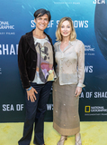 The National Photo - LOS ANGELES CA - JULY 10  (L to R) Environmentalist Dr Shelley Luce and Actress Singer Dancer Sharon Lawrence attend the National Geographic Sea of Shadows Movie Premiere on July 10 2019 in Los Angeles California  (Photo by Corine SolbergImageCollectcom)