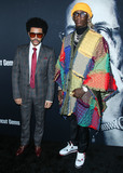Young Thug Photo - HOLLYWOOD LOS ANGELES CALIFORNIA USA - DECEMBER 11 Singer The Weeknd (Abel Makkonen Tesfaye) and rapper Young Thug arrive at the Los Angeles Premiere Of A24s Uncut Gems held at the ArcLight Cinerama Dome on December 11 2019 in Hollywood Los Angeles California United States (Photo by Xavier CollinImage Press Agency)