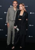 Ashlee Simpson Photo - WEST HOLLYWOOD LOS ANGELES CALIFORNIA USA - JANUARY 23 Evan Ross and Ashlee Simpson arrive at the Spotify Best New Artist 2020 Party held at The Lot Studios on January 23 2020 in West Hollywood Los Angeles California United States (Photo by Xavier CollinImage Press Agency)