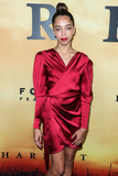 Hayley Law Photo - LOS ANGELES CALIFORNIA USA - OCTOBER 29 Actress Hayley Law arrives at the Los Angeles Premiere Of Focus Features Harriet held at The Orpheum Theatre on October 29 2019 in Los Angeles California United States (Photo by Xavier CollinImage Press Agency)