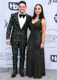 Anthony Ramos Photo - LOS ANGELES CA USA - JANUARY 27 Anthony Ramos and Jasmine Cephas Jones arrive at the 25th Annual Screen Actors Guild Awards held at The Shrine Auditorium on January 27 2019 in Los Angeles California United States (Photo by Xavier CollinImage Press Agency)