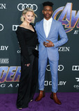 Aubrey Joseph Photo - LOS ANGELES CALIFORNIA USA - APRIL 22 Olivia Holt and Aubrey Joseph arrive at the World Premiere Of Walt Disney Studios Motion Pictures and Marvel Studios Avengers Endgame held at the Los Angeles Convention Center on April 22 2019 in Los Angeles California United States (Photo by Xavier CollinImage Press Agency)