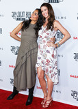 Shannon Elizabeth Photo - HOLLYWOOD LOS ANGELES CALIFORNIA USA - OCTOBER 14 Actresses Rosario Dawson and Shannon Elizabeth arrive at the Los Angeles Premiere Of Saban Films Jay and Silent Bob Reboot held at the TCL Chinese Theatre IMAX on October 14 2019 in Hollywood Los Angeles California United States (Photo by David AcostaImage Press Agency)