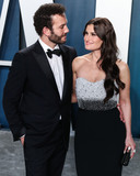 Idina Menzel Photo - BEVERLY HILLS LOS ANGELES CALIFORNIA USA - FEBRUARY 09 Aaron Lohr and Idina Menzel arrive at the 2020 Vanity Fair Oscar Party held at the Wallis Annenberg Center for the Performing Arts on February 9 2020 in Beverly Hills Los Angeles California United States (Photo by Xavier CollinImage Press Agency)
