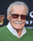 Editors Photo - (FILE) Stan Lee Dies At 95 Stan Lee the legendary writer editor and publisher of Marvel Comics whose fantabulous but flawed creations made him a real-life superhero to comic book lovers everywhere has died He was 95 Lee who began in the business in 1939 and created or co-created Black Panther Spider-Man the X-Men the Mighty Thor Iron Man the Fantastic Four the Incredible Hulk Daredevil and Ant-Man among countless other characters died early Monday morning at Cedars-Sinai Medical Center in Los Angeles a family representative told The Hollywood Reporter HOLLYWOOD LOS ANGELES CA USA - APRIL 23 American comic book writer Stan Lee arrives at the World Premiere Of Disney And Marvels Avengers Infinity War held at the El Capitan Theatre Dolby Theatre and TCL Chinese Theatre IMAX on April 23 2018 in Hollywood Los Angeles California United States (Photo by Xavier CollinImage Press Agency)