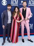 Dave Haywood Photo - LAS VEGAS NEVADA USA - APRIL 07 Dave Haywood Hillary Scott and Charles Kelley of Lady Antebellum arrive at the 54th Academy Of Country Music Awards held at the MGM Grand Garden Arena on April 7 2019 in Las Vegas Nevada United States (Photo by Xavier CollinImage Press Agency)
