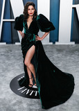 Freida Pinto Photo - BEVERLY HILLS LOS ANGELES CALIFORNIA USA - FEBRUARY 09 Freida Pinto arrives at the 2020 Vanity Fair Oscar Party held at the Wallis Annenberg Center for the Performing Arts on February 9 2020 in Beverly Hills Los Angeles California United States (Photo by Xavier CollinImage Press Agency)