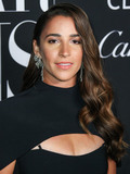 Aly Raisman Photo - MANHATTAN NEW YORK CITY NEW YORK USA - SEPTEMBER 06 Aly Raisman arrives at the 2019 Harpers BAZAAR Celebration of ICONS By Carine Roitfeld held at The Plaza Hotel on September 6 2019 in Manhattan New York City New York United States (Photo by Xavier CollinImage Press Agency)