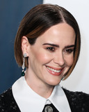 Sarah Paulson Photo - BEVERLY HILLS LOS ANGELES CALIFORNIA USA - FEBRUARY 09 Sarah Paulson arrives at the 2020 Vanity Fair Oscar Party held at the Wallis Annenberg Center for the Performing Arts on February 9 2020 in Beverly Hills Los Angeles California United States (Photo by Xavier CollinImage Press Agency)