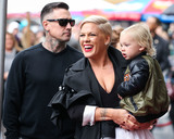 Carey Hart Photo - HOLLYWOOD LOS ANGELES CA USA - FEBRUARY 05 Carey Hart wifesinger Pnk (Pink Alecia Moore) and son Jameson Moon Hart attend a ceremony honoring singer Pnk (Pink Alecia Moore) With Star On The Hollywood Walk Of Fame - Dedication of the 2656th star on the Walk of Fame in the category of Recording on February 5 2019 in Hollywood Los Angeles California United States (Photo by Xavier CollinImage Press Agency)