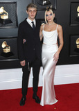 Anwar Hadid Photo - LOS ANGELES CALIFORNIA USA - JANUARY 26 Anwar Hadid and Dua Lipa arrive at the 62nd Annual GRAMMY Awards held at Staples Center on January 26 2020 in Los Angeles California United States (Photo by Xavier CollinImage Press Agency)