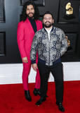 Shay Photo - LOS ANGELES CALIFORNIA USA - JANUARY 26 Dan Smyers and Shay Mooney of Dan  Shay arrive at the 62nd Annual GRAMMY Awards held at Staples Center on January 26 2020 in Los Angeles California United States (Photo by Xavier CollinImage Press Agency)
