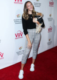 Elizabeth Glaser Photo - CULVER CITY LOS ANGELES CALIFORNIA USA - OCTOBER 27 Actress Ava Michelle and Bentley The Pom arrive at the Elizabeth Glaser Pediatric AIDS Foundations 30th Annual A Time for Heroes Family Festival held at Smashbox Studios on October 27 2019 in Culver City Los Angeles California United States (Photo by Xavier CollinImage Press Agency)