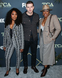 Aisha Hinds Photo - PASADENA LOS ANGELES CA USA - FEBRUARY 06 Actors Angela Bassett Oliver Stark and Aisha Hinds arrive at the FOX Winter TCA 2019 All-Star Party held at The Fig House on February 6 2019 in Pasadena Los Angeles California United States (Photo by Xavier CollinImage Press Agency)