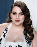 Beanie Feldstein Photo - BEVERLY HILLS LOS ANGELES CALIFORNIA USA - FEBRUARY 09 Beanie Feldstein arrives at the 2020 Vanity Fair Oscar Party held at the Wallis Annenberg Center for the Performing Arts on February 9 2020 in Beverly Hills Los Angeles California United States (Photo by Xavier CollinImage Press Agency)