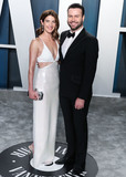 Coby Smulders Photo - BEVERLY HILLS LOS ANGELES CALIFORNIA USA - FEBRUARY 09 Cobie Smulders and Taran Killam arrive at the 2020 Vanity Fair Oscar Party held at the Wallis Annenberg Center for the Performing Arts on February 9 2020 in Beverly Hills Los Angeles California United States (Photo by Xavier CollinImage Press Agency)