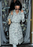 Anastasia Karanikolaou Photo - WEST HOLLYWOOD LOS ANGELES CA USA - SEPTEMBER 27 Kim Kardashian West seen arriving at the Anastasia Karanikolaou Cosmetics Launch held at Delilah on September 27 2018 in West Hollywood Los Angeles California United States (Photo by Image Press Agency)